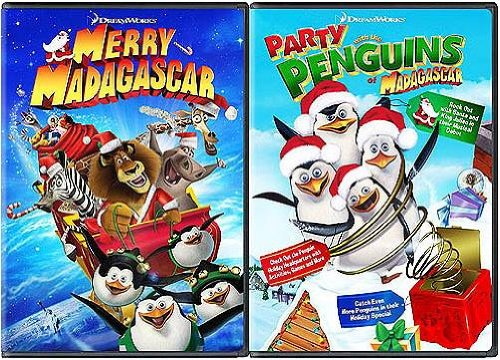 - Merry Madagascar/Party with the Penguins (Mad-Tastic Holiday 2-Pack)