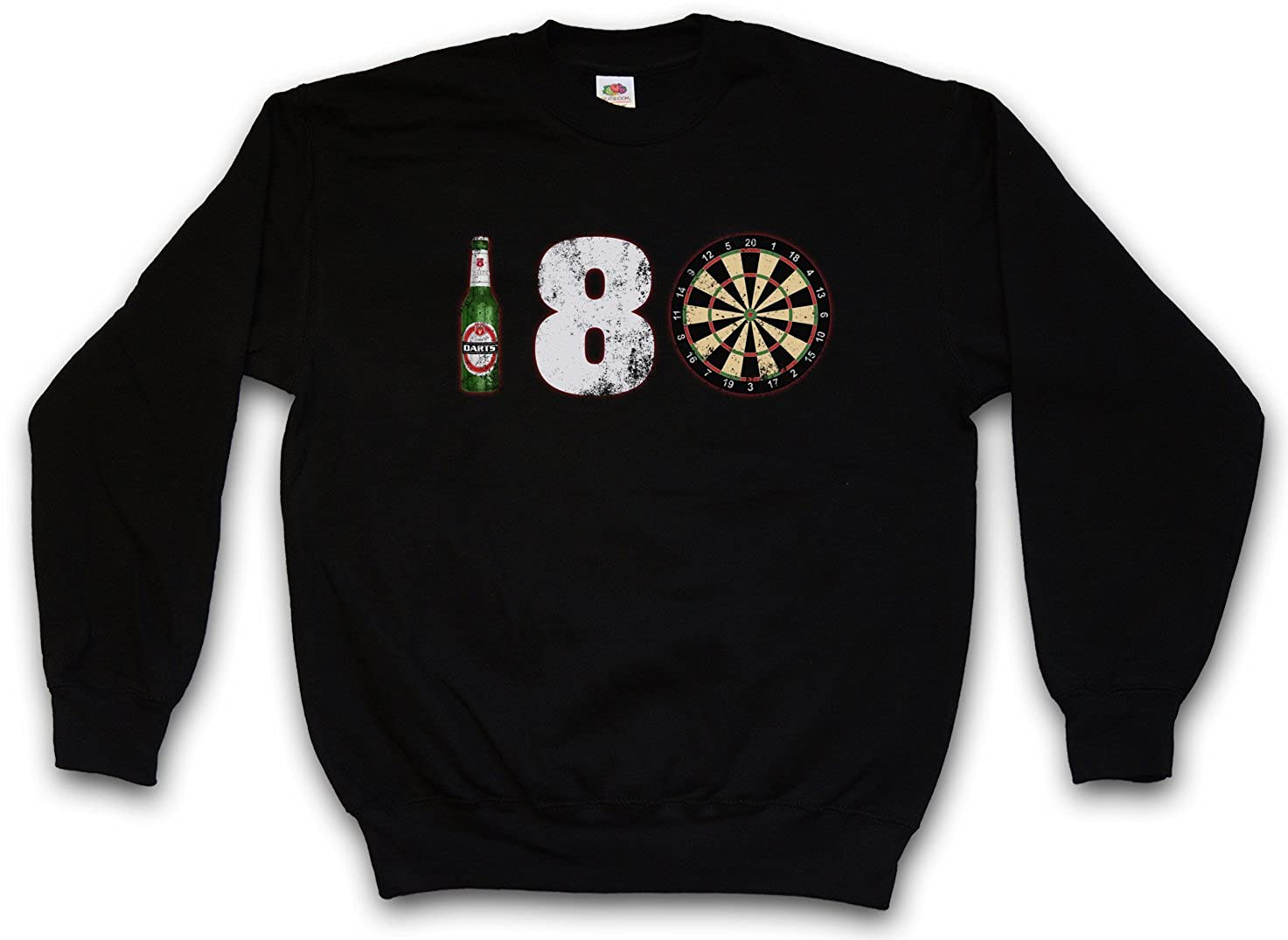 180 Darts Sweatshirt Pullover – – – Dart Arrows Dart Target Zielscheibe Pfeile Profi Shirt Größen S – 3XL B01CYUVHQY Sweatshirts Neuankömmling 72e233