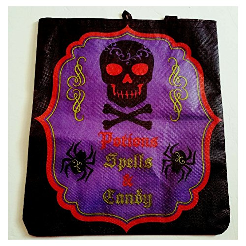 Or Treat Trick Ideas (Whimsical Trick or Treat Bag - Skull Loot)