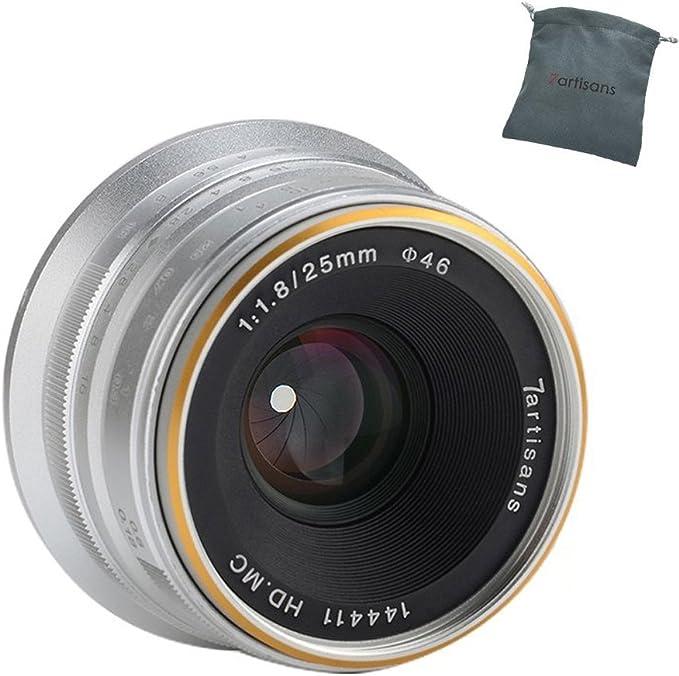 7artisans 25mm F1 8 Aps C Frame Lens Manueller Fokus Kamera