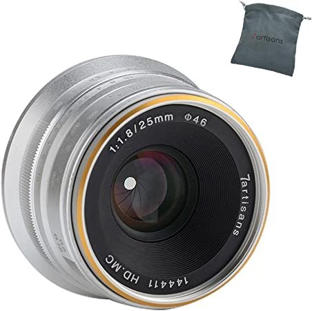 7artisans 25mm F1 8 Aps C Manuelle Festobjektiv Für Kamera