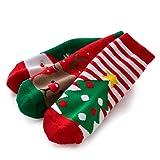 YEAPOOK Unisex Baby Toddler Girls Christmas Socks