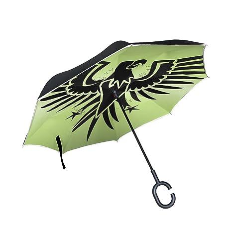 Amazon com : LEISISI Portal Eagle Reverse Umbrella Inverted