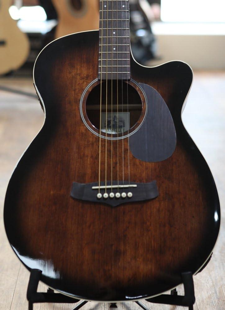 Tanglewood Nashville V Super guitarra electroacústica Folk duro caso – antiguo violín brillante: Amazon.es: Instrumentos musicales