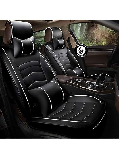Stupendous Pegasuspremium Pu Leather Car Seat Cover For Hyundai Venue Black And Beige Creativecarmelina Interior Chair Design Creativecarmelinacom