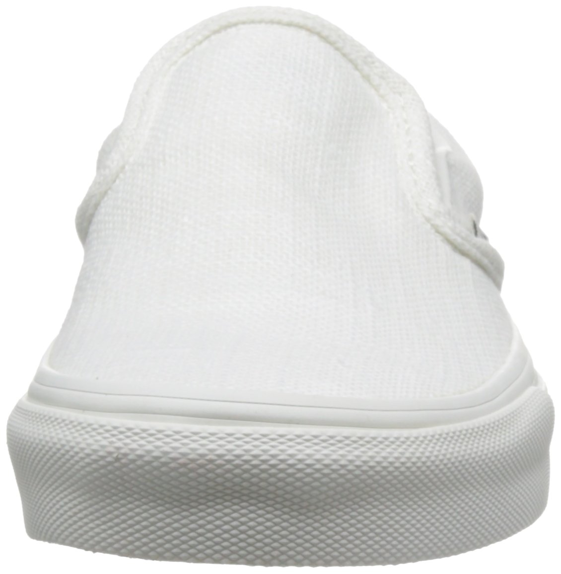 Vans Unisex Classic (Checkerboard) Slip-On Skate Shoe B01K5TVZFO 8.5 M US Women / 7 M US Men|Blanc De Blanc