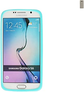 Para BQ Aquaris VS Anillo Bumper de TPU turquesa/azul marco protector silicona Carcasa de smartphone para BQ Aquaris VS – K de S de Trade (TM): Amazon.es: Electrónica