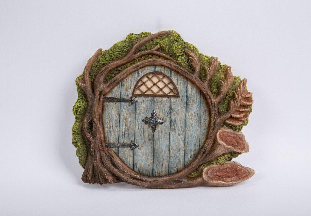 Fairy doors 17502 gnome solar door sc 1 st my fairy for Fairy pixie doors