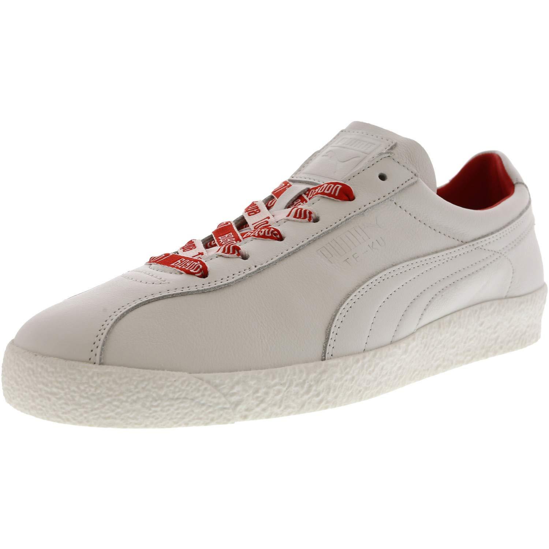 Puma Men's Te Ku Russia Fm WhiteFlame Scarlet Ankle High