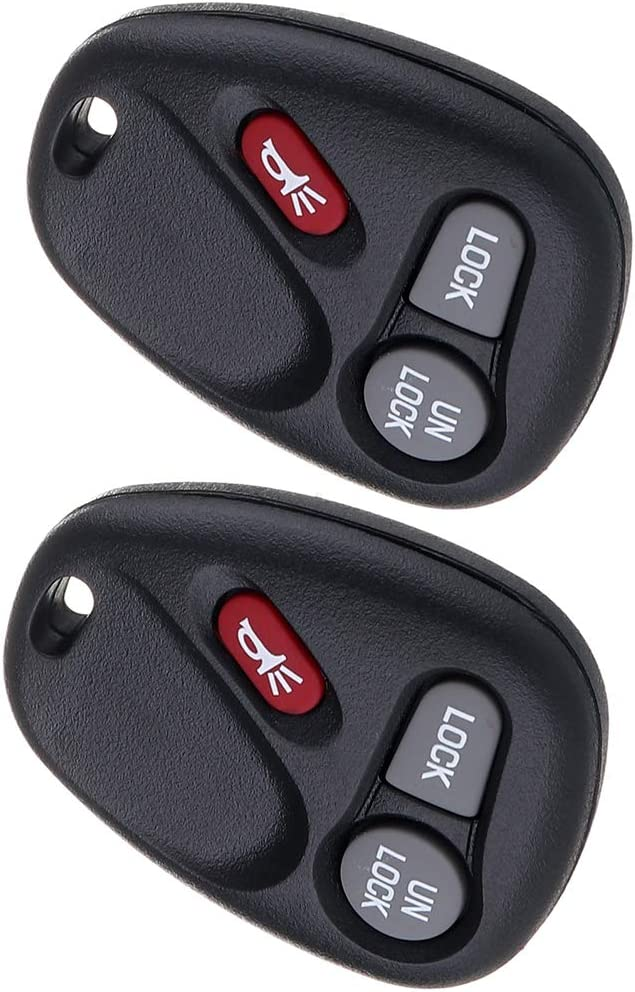 Replacement Parts ANPART 2 X Remote Key Fob Compatible for 01 02 ...