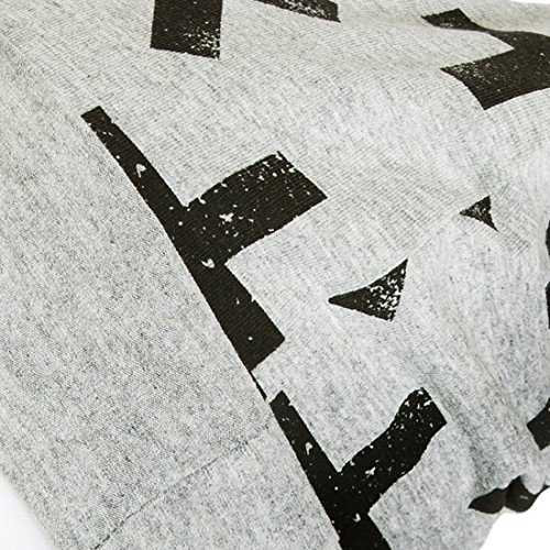 Red de Pois - BP17011M - Bonnet garçon réversible jersey gris et noir 3-6 ans
