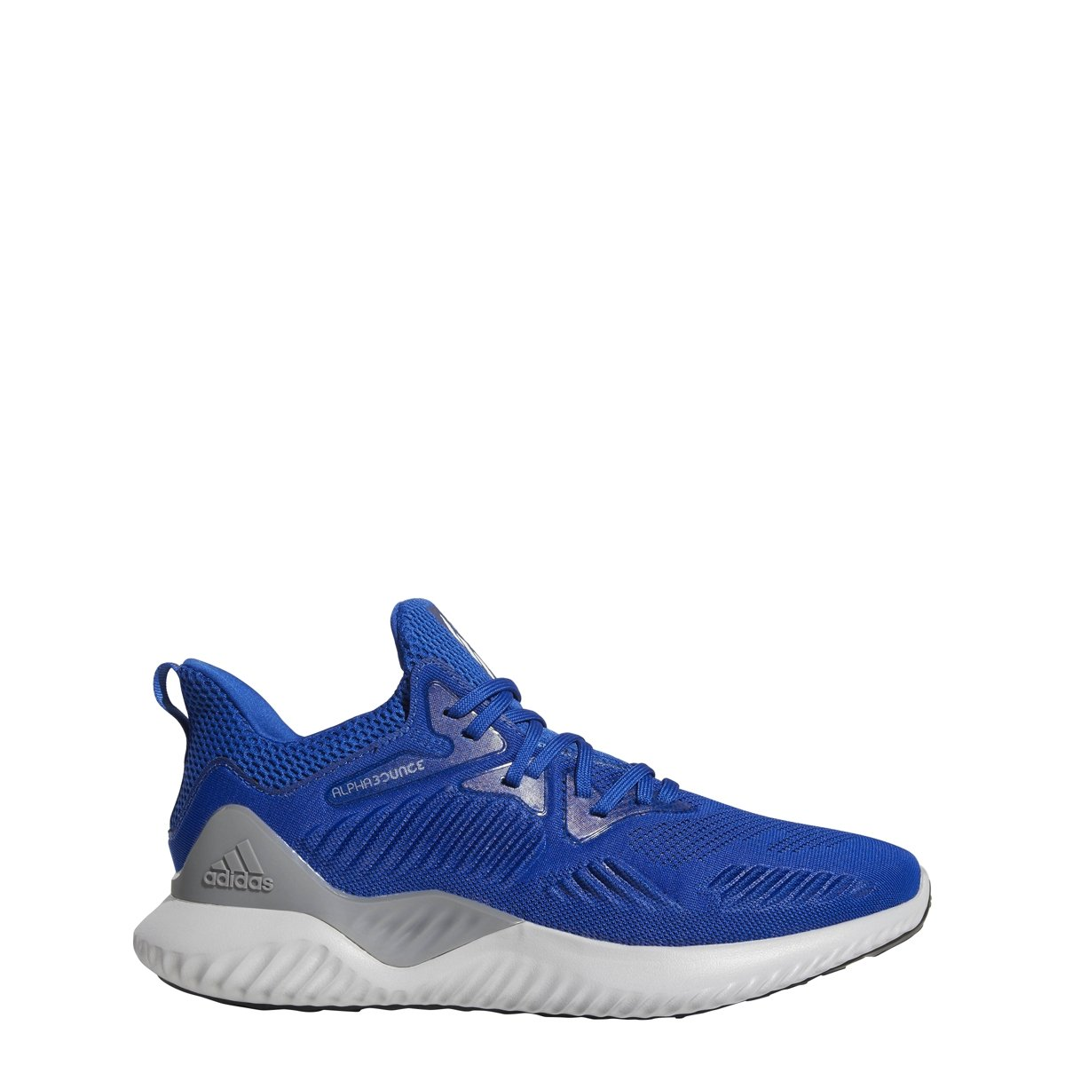 adidas Men's Alphabounce Beyond Team Running Shoe, Collegiate Royal/White/Black, 8 M US