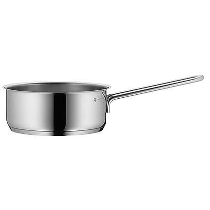 WMF Mini - Cazo de Ø14cm y 0,9 litros, cromargan acero inoxidable publido, apto para todo tipo de cocina incluido inducción