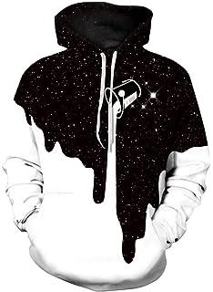 TDOLAH Homme Casual Sweats à Capuche Pull à Manches Longues Sweat-Shirts  Hiver Fantaisie Hoodie cc663a3c2256