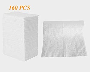 """UCLEAN Dry Mop Refills Sweeper Disposable Dusting Cloths Dry Sweeping Refills Dry Duster Cloths Mop Pads Floor Cloth Refills Electrostatic Cloths 160 Count 7.9""""x11.6"""""""