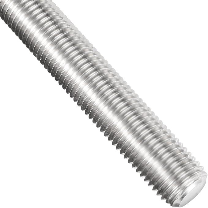 "10mm X 1.5   Threaded Rod  B7 high tensile steel 1 pc 18/"" long"
