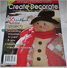Create Decorate January February 2014 Issue 250 Various