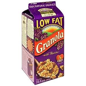 Sweet Home Farm Low Fat Granola with Raisins, 20.5 oz