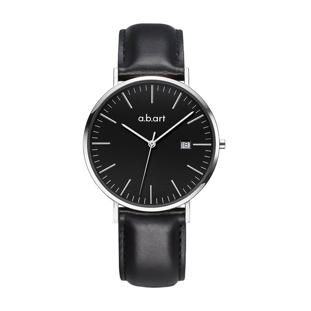 a.b.art FB36-135-1L Wrist Watches Black Dial and Strap Business Style(Black ) by a.b.art