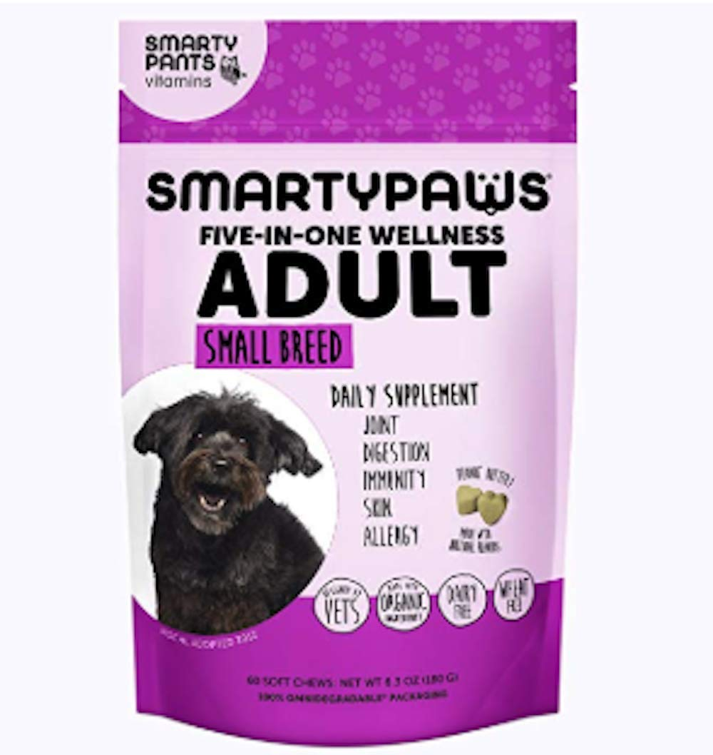 Dog Supplement Chew - Adult Small  by SmartyPants