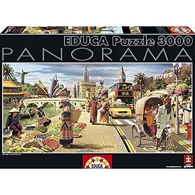 Puzzles Educa Mundo Global Puzzle De 3000 Piezas 15545