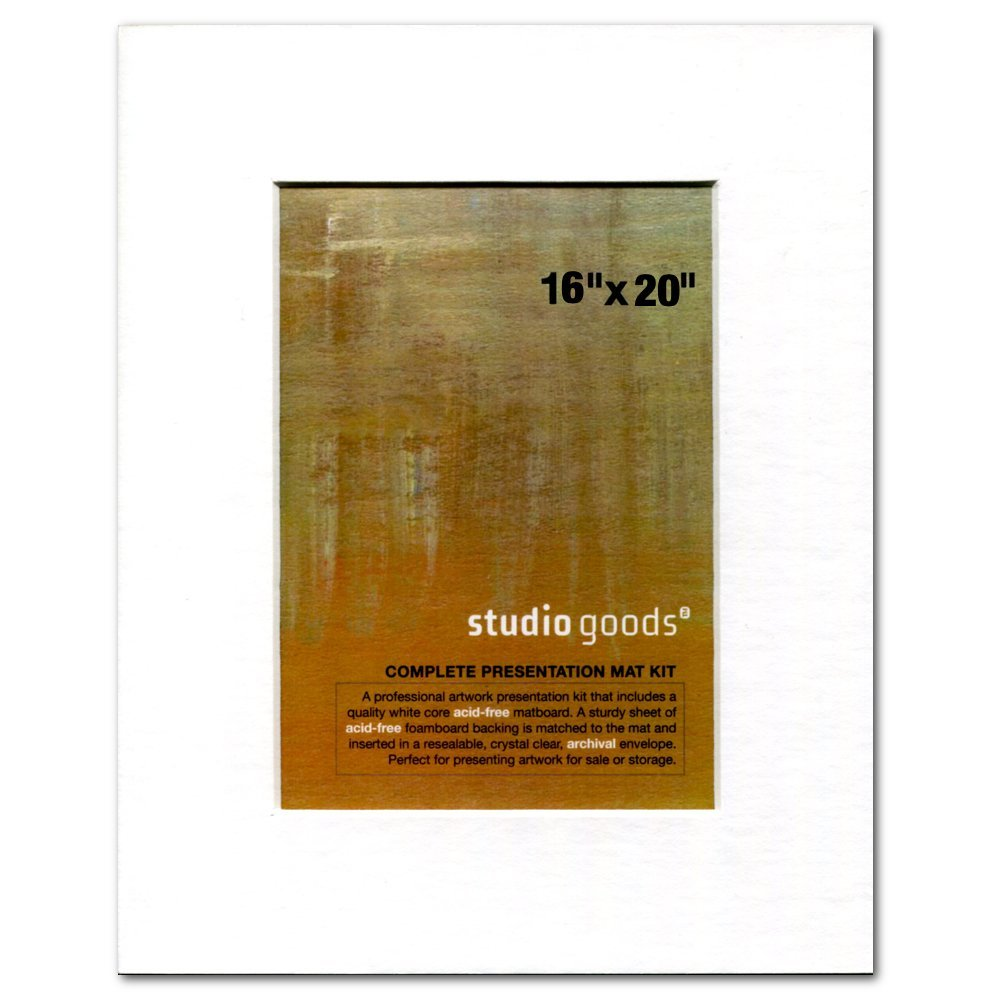 Studio Goods Mat Kit 16X20 Paper White SELECT PUBLICATIONS