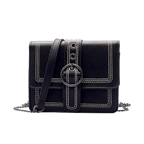 35b0a13a20 Longra Donne Borse Tracolla Moda Mini Borsa Spalla Borsa,Pelle Filo Falda  Crossbody Bag Shoulderbag