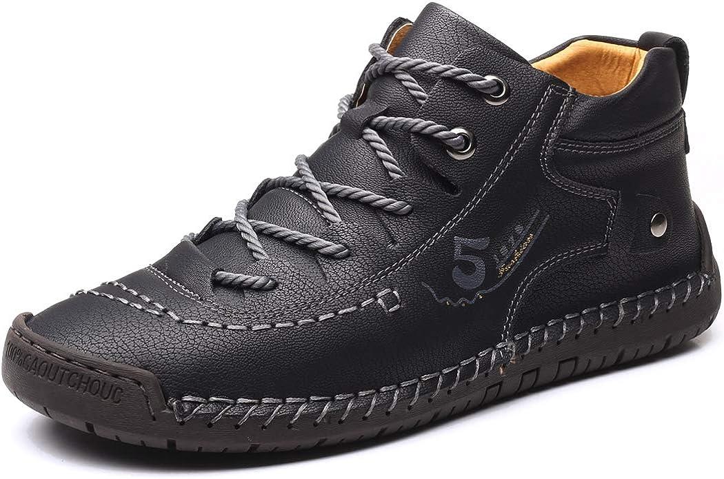 mens black casual boots