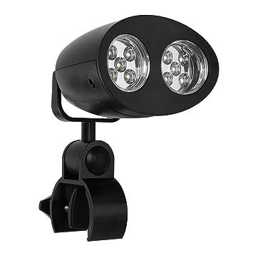 Leaning Tech Barbacoa Proyección Barbacoa Parrilla Luz para Iluminación LED con sensor táctil para camping Pesca