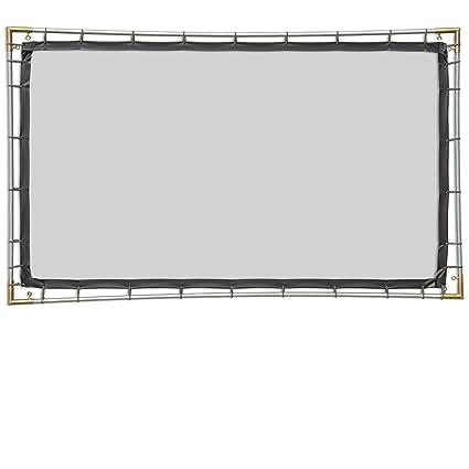Amazon.com: Carl de Blackout tela, 16: 9, 5 x 9, Hanging Kit ...