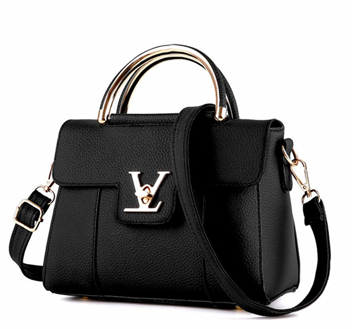 Amazon.com  Fake Designer Bags V Women s Luxury Leather Clutch Bag Ladies Handbags  Brand Women Messenger Bags Sac A Main Femme Handle 1  Luggage combination  ... 08356a96f6