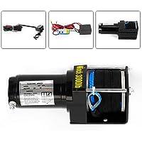 12V 3000LB Cabrestante Eléctrico Motor Cable de Elevación