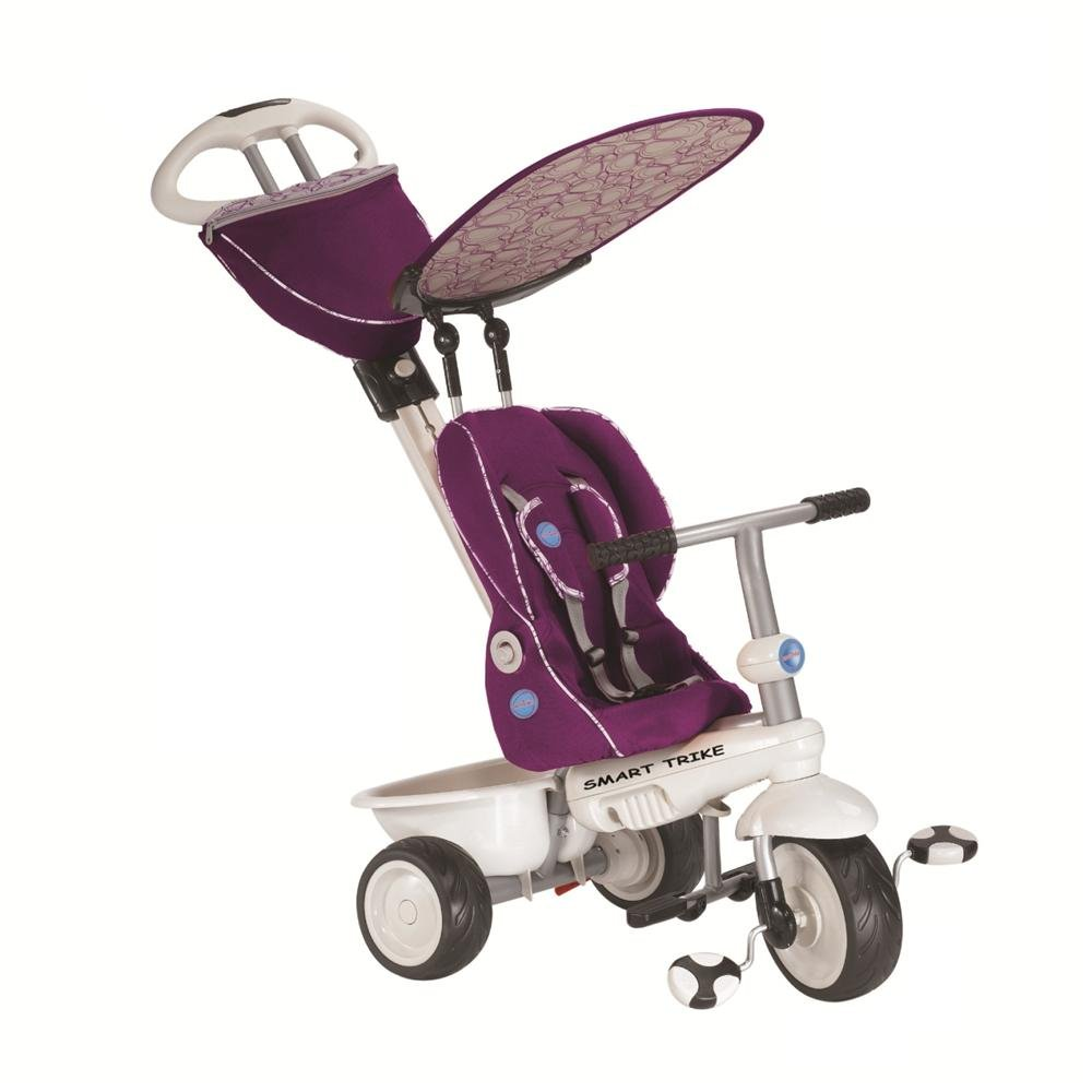 sc 1 st  Amazon.com & Amazon.com: Smart Trike Recliner 4-in-1 Tricycle Purple: Toys \u0026 Games islam-shia.org