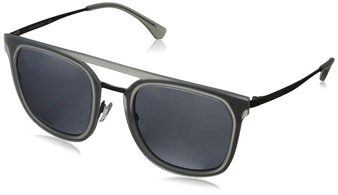 Emporio Armani 0EA2062 Gafas de sol, Matte Gunmetal, 54 para ...