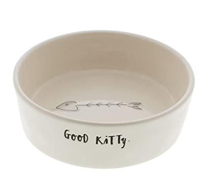 Lower Price with Rae Dunn By Magenta Pink Meow Cat Kitty Bowl Dish Brand New Ll Large Letters Cat Supplies