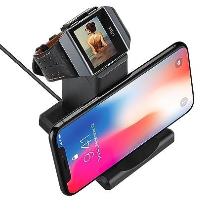 Amazon.com: GOSETH para Fitbit Ionic Cargador, Fitbit Ionic ...