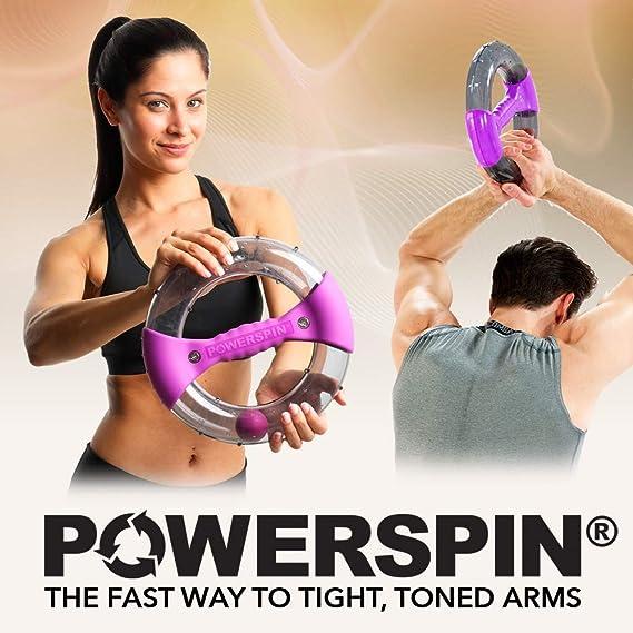 Powerspin EVO - Entrenamiento de Brazos, Tríceps y Hombros ...
