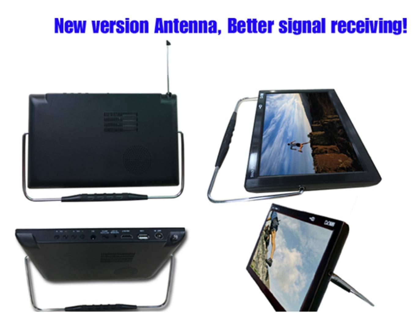 Amazon.com: SYSINN Mini TV de 9 pulgadas con SD y diseño ...