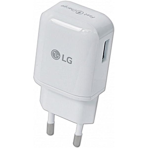 LG Cargador Original MCS-H06ED Carga Rapida + Cable para LG ...