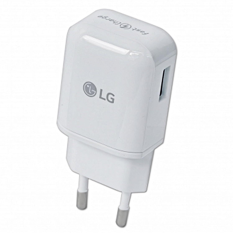 Original LG G5 H850 USB de tipo C de tipo C MCS H05 1.8 a 1800 mA Cargador rápido fuente de cable Cable de carga Adaptador Cable de datos 2 piezas ...
