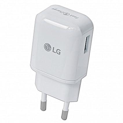 LG Cargador de Carga/Cable de Datos 2.0 micro USB 1800 mAh para LG ...
