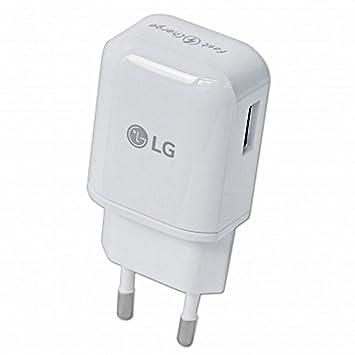 Cargador Original LG MCS-H05ER Carga Rapida + Cable para LG ...