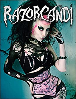 Book RazorCandi: Gothic Punk Deathrock Tattoo Pinup Icon
