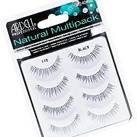 ARDELL Natural Multipack (1 x 4 paar) | 110 zwart | zonder wimperlijm | valse wimpers van echt haar om te plakken…
