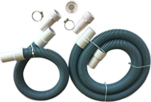 "Fibropool Professional 1 1/2"" Swimming Pool Filter Hose Replacement Kit (3 Foot + 6 Foot)"