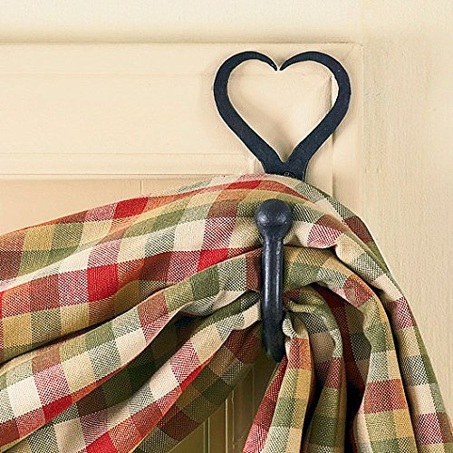- Park Designs Split Heart Curtain Hook