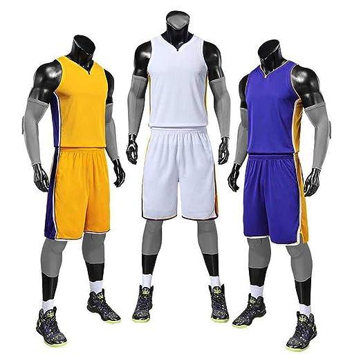 XSSC Pantalones NBA Baloncesto Uniformes James Lakers Jersey 23 ...