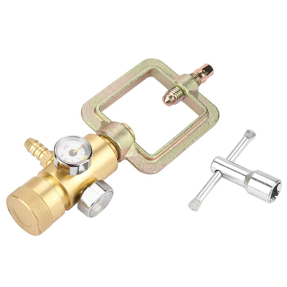 Acetylene Pressure Gauge - 0.01-0.15MPa Acetylene Gas Pressure Reducer Air Flow Regulator Gauge Meter by MLMLH (Image #8)