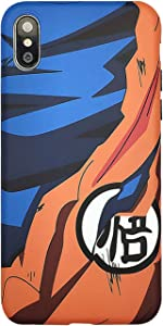 Abbery Cute Cartoon Dragon Ball Super Son Goku Soft Silicone TPU Cell Phone Cases for iPhone 6/ iPhone 6s Case Luxury Back Cover for Man Boy Mate (for iPhone 6 or 6s)