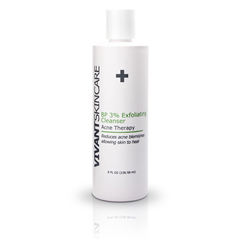 Vivant Skin Care BP 3% Exfoliating Cleanser 8 Ounce